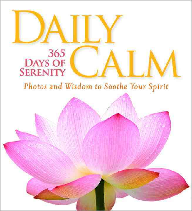 Daily Calm By National Geographic Society (U. S.)